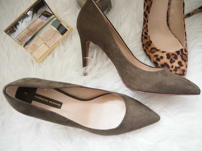 Dorothy Perkins khaki shoes
