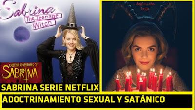 Mundo oculto de Sabrina serie satánica: adoctrinamiento en canibalismo, agenda gay, orgías y #Wicca #Katecon2006