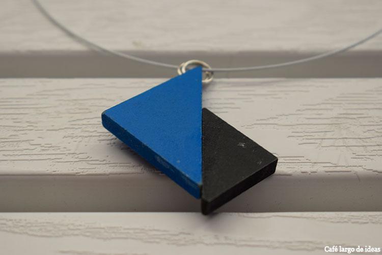 collar de tangram