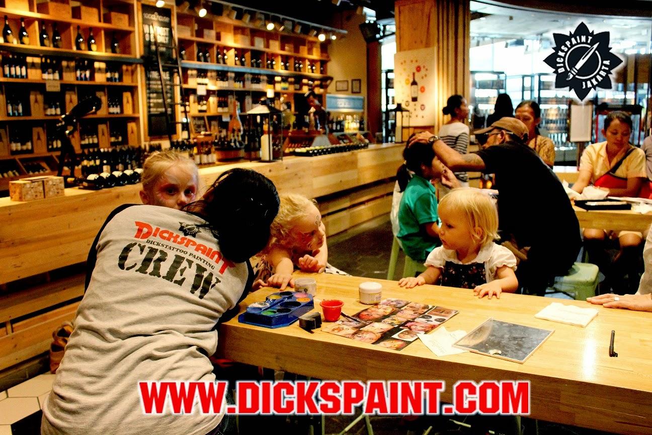 face painting jakarta kids