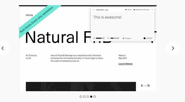 Font Ninja Tool Terbaik Identifikasi Mengetahui Font dari Gambar