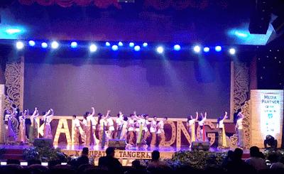 "Tari Cukin Budaya Asli Tangerang ""Kang Jatuh Di Telapak Kaki Nong"""