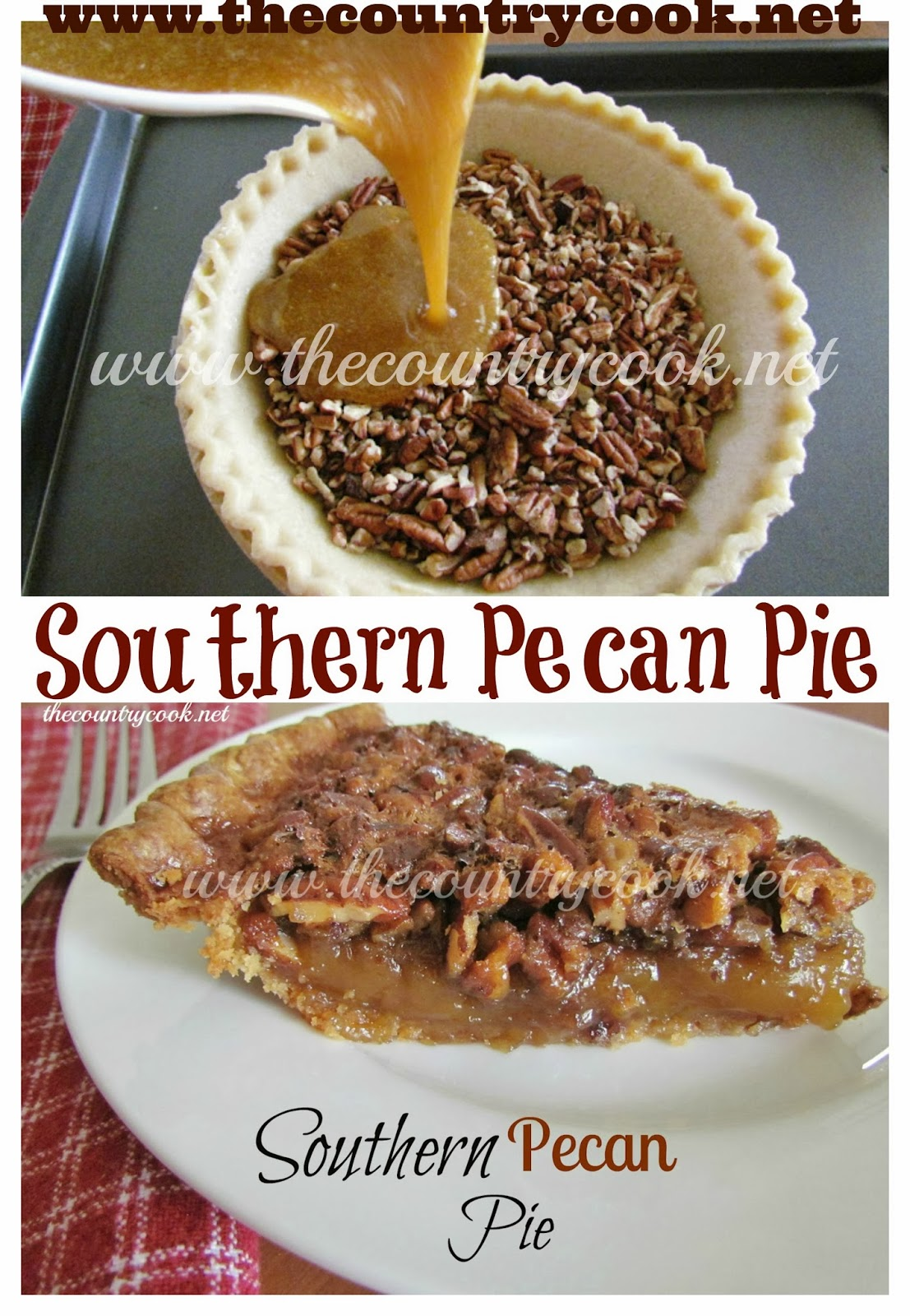The Country Cook Southern Pecan Pie