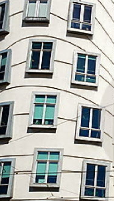 Windows are not in same vertical row to be more Earthquake Resistant