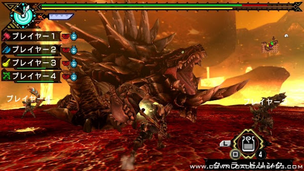Monster Hunter Portable 3rd HD Ver PS3 ISO Screenshots #5