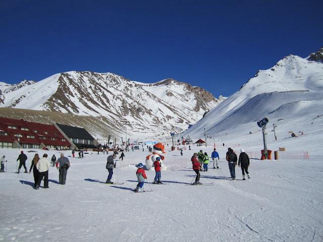 Centro de Esqui Los Penitentes em Mendoza