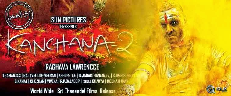 Movie Image Gallery: Kanchana 2 Tamil Movie First Look Poster
