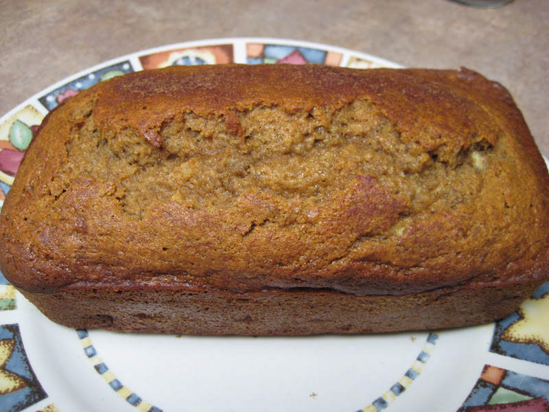 Runs for cookies real foods challenge day 16 when i got home i made this recipe for real food banana bread it is sweetened with honey and it turned out so good i was very impressed forumfinder Image collections
