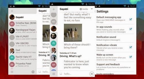 Aplikasi SMS Android Hello SMS