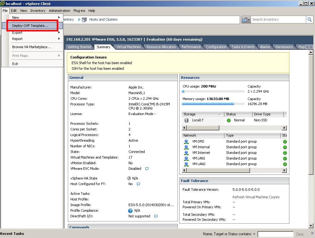 Cisco ASAv 9 4 1 and ASDM 7 4 1 in Workstation / ESXi (2) - Cyber