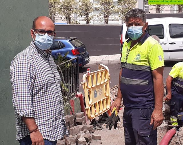 El Ayuntamiento de Los Llanos de Aridane sigue invirtiendo en el ahorro del agua