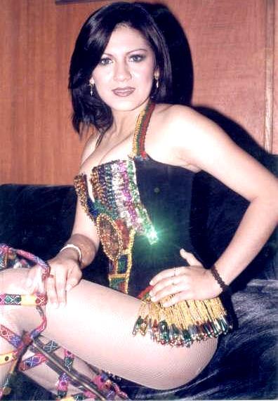 Foto de Marina Yafac en sus inicios