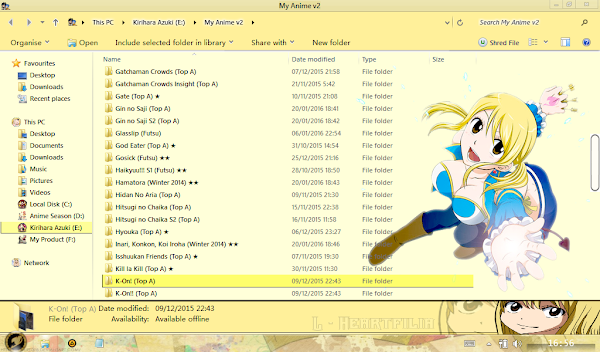 Lucy Heartfilia (Fairy Tail) Win8/8.1 4