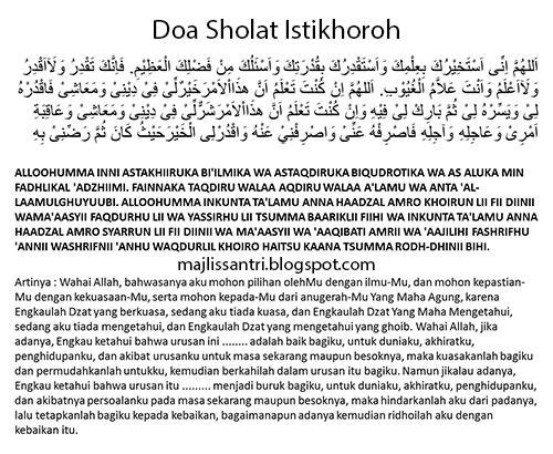 Manfaat Jawaban Waktu Pelaksanaan Doa Sholat Istikhoroh Mohon Dapat Petunjuk Jodoh