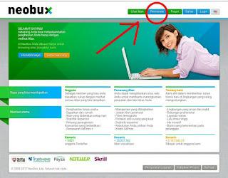 Game Online penghasil Uang dari Neobux
