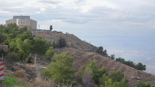 Located at the steep hill of Mount Nebo