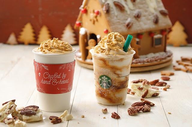 【日本限定】今年Starbucks不再「薑」 核桃搭配朱古力聖誕登場