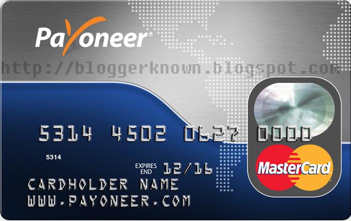 How to Get Free Prepaid Master Debit Card by Payoneer - EARN