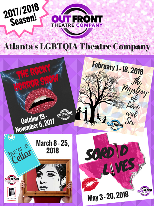 Out Front Theatre Company's Season 2 Lineup (2017-2018)