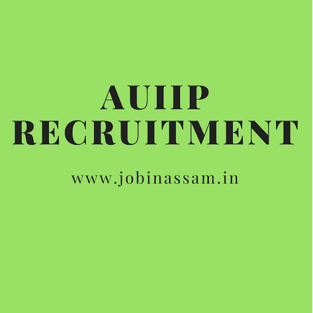 Assam Urban Infrastructure Investment Program Recruitment 2017