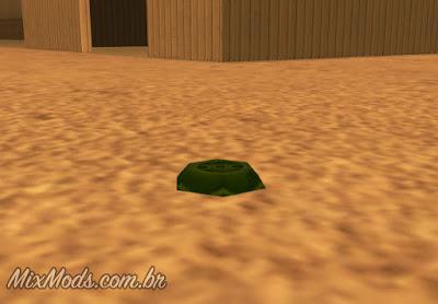 gta sa san mod colocar minas terrestres put land mines