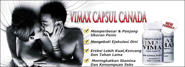 Obat Vimax Untuk Memperbesar dan Memperkuat Penis dan Tahan Lama