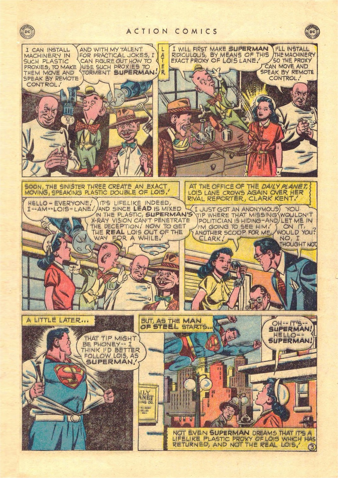 Read online Action Comics (1938) comic -  Issue #151 - 4