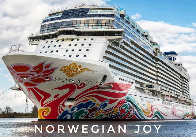 Norwegian joy race track – One of the most expensive race tracks in the World and that too on a cruise ship.