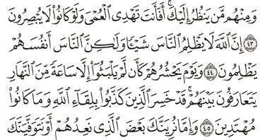 Tafsir Surat Yunus Ayat 41, 42, 43, 44, 45