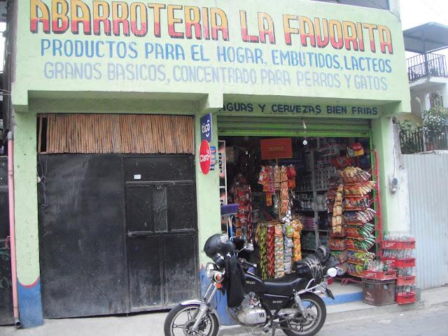 tienda corner store Panajachel Guatemala abarroteria