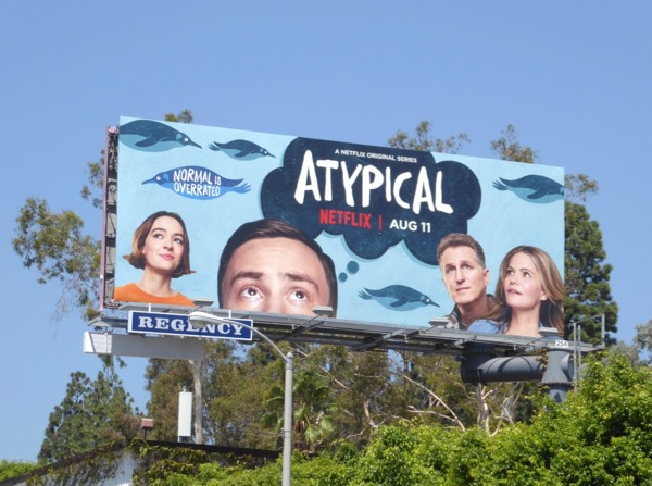 Atypical series launch billboard
