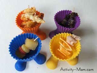 Muffin Tin Monday - Kebabs