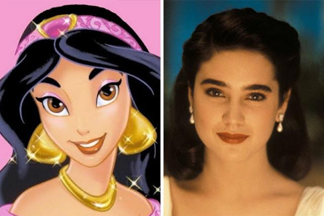Jasmine rosto de onde vem