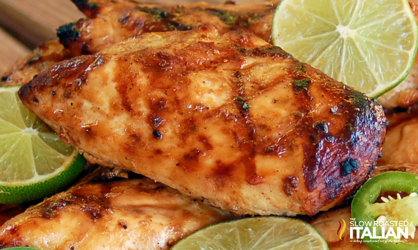 Best Ever Grilled Margarita Chicken With Video