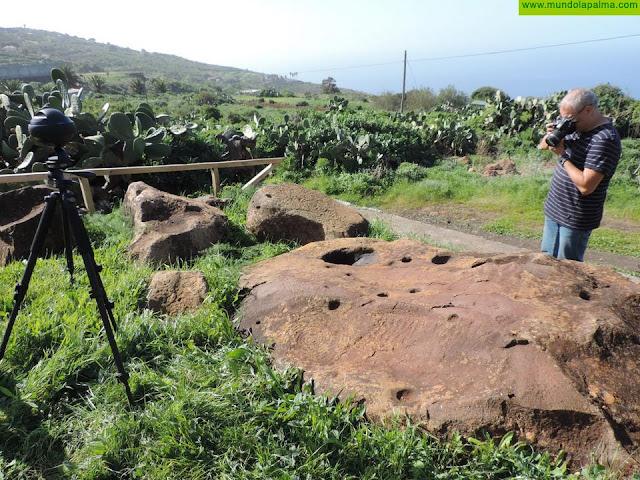 El Museo Arqueológico incorpora un quiosco inmersivo para divulgar los principales yacimientos de La Palma
