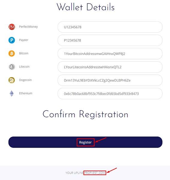 Регистрация в United Bit 3