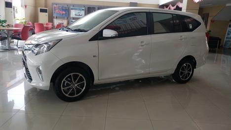Eksterior Toyota Calya Indonesia