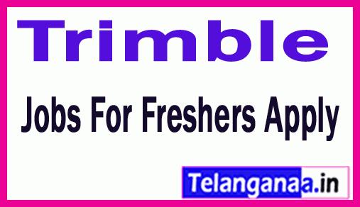 Trimble Recruitment Jobs For Freshers Apply