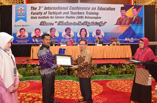 IAIN Batusangkar Sukses Selenggarakan the Third International Seminar on Education (ICoE-3)