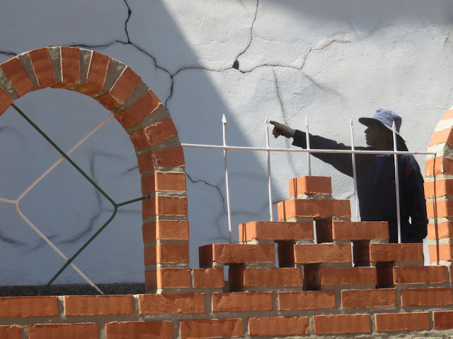 Immer wieder treten Schäden an der Pfarrkirche auf