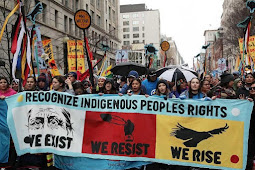 Indigenous Peoples Stage Solidarity March on Washington