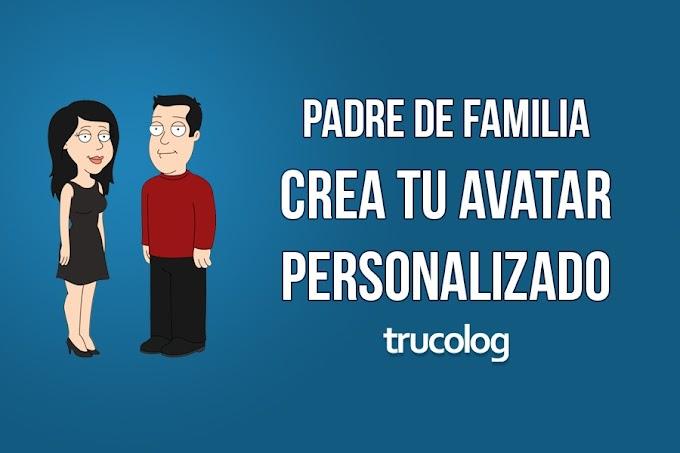 Como crear un avatar personalizado de Padre de Familia