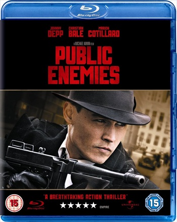Public Enemies 2009 Dual Audio Hindi 720p BluRay 1GB