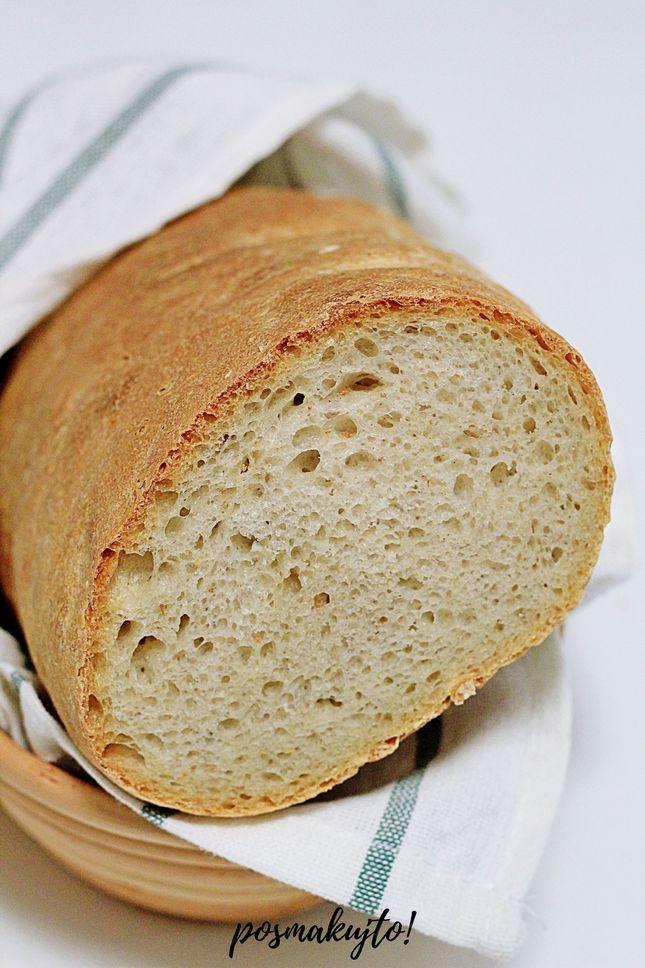 prosty chleb pszenny na zakwasie