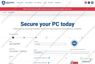 Get a FREE 1 year license key of Heimdal PRO – Protects you from cyber-criminal