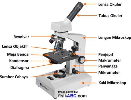 alat optik mikroskop