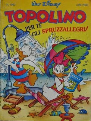 Copertina del Topolino numero 1962 che allegava uno Sfrizzo ti Schizzo