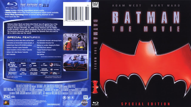 Batman: The Movie Bluray