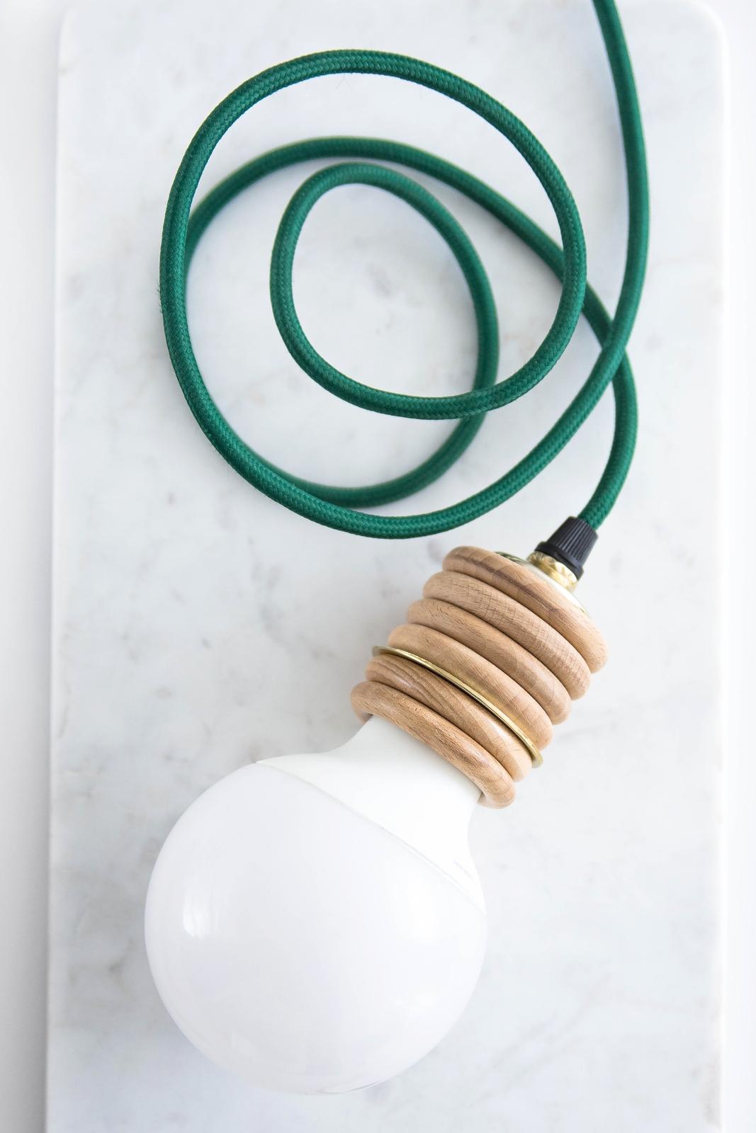 DIY Leuchte im Industrial Chic