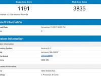 Spesifikasi Samsung Galaxy S9 Plus Bocor Disitus Benchmark